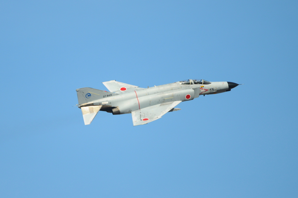 masahiさんの航空自衛隊 Mitsubishi F-4EJ Kai Phantom II (07-8431) 航空フォト