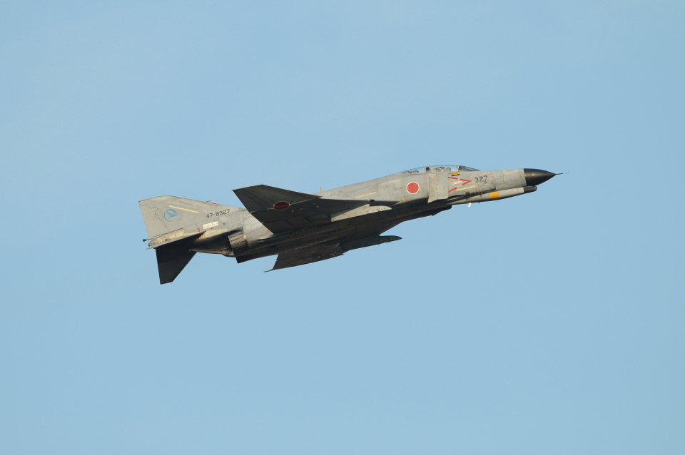 masahiさんの航空自衛隊 Mitsubishi F-4EJ Phantom II (47-8327) 航空フォト