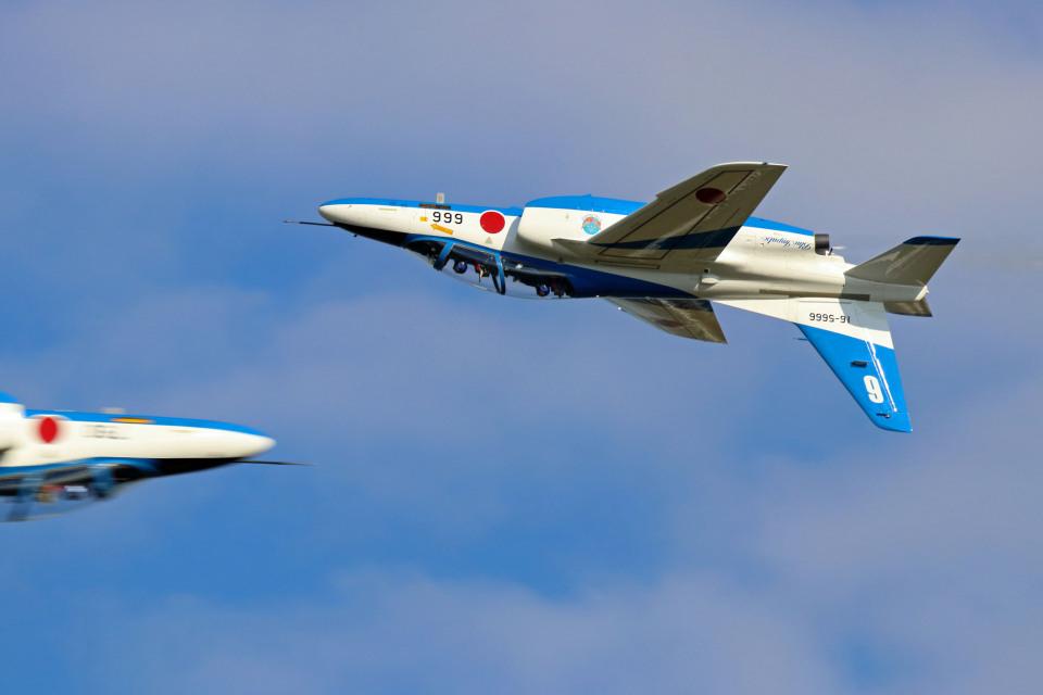 szkkjさんの航空自衛隊 Kawasaki T-4 (16-5666) 航空フォト