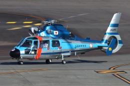 ブルーさんさんが、静岡空港で撮影した静岡県警察 AS365N1 Dauphin 2の航空フォト(飛行機 写真・画像)