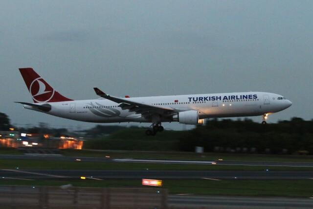青春の1ページさんが、成田国際空港で撮影したターキッシュ・エアラインズ A330-303の航空フォト(飛行機 写真・画像)