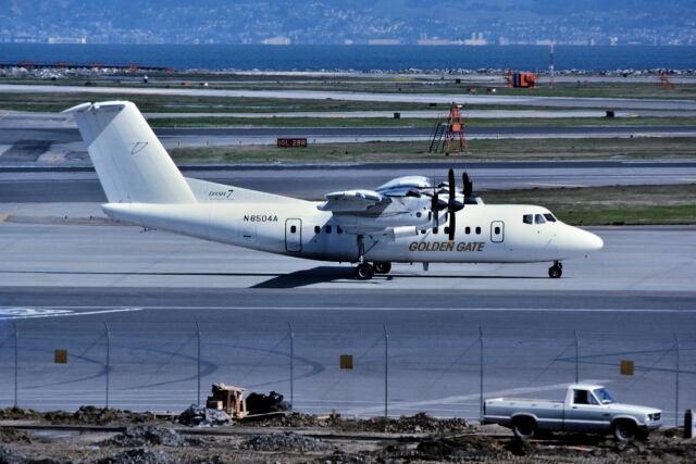 パール大山さんが、サンフランシスコ国際空港で撮影したGolden Gate Airlines De Havilland Canadaの航空フォト(飛行機 写真・画像)