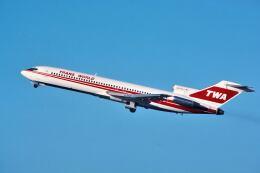 パール大山さんが、サンフランシスコ国際空港で撮影したトランス・ワールド航空 727-231/Advの航空フォト(飛行機 写真・画像)