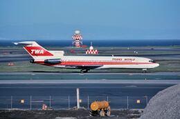 パール大山さんが、サンフランシスコ国際空港で撮影したトランス・ワールド航空 727-231の航空フォト(飛行機 写真・画像)