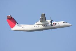 プルシアンブルーさんが、那覇空港で撮影した琉球エアーコミューター DHC-8-314 Dash 8の航空フォト(飛行機 写真・画像)