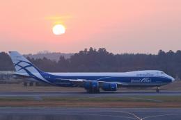 inyoさんが、成田国際空港で撮影したエアブリッジ・カーゴ・エアラインズ 747-8HVFの航空フォト(飛行機 写真・画像)