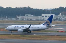 inyoさんが、成田国際空港で撮影したユナイテッド航空 737-724の航空フォト(飛行機 写真・画像)