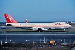 パール大山さんが、サンフランシスコ国際空港で撮影したカンタス航空 747-238Bの航空フォト(飛行機 写真・画像)