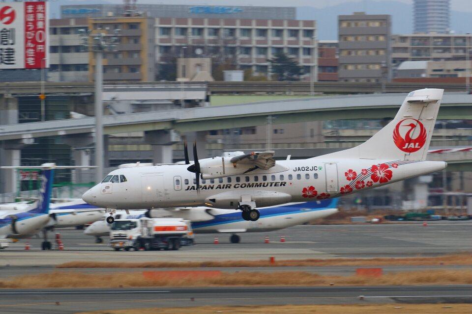 khideさんの日本エアコミューター ATR 42 (JA02JC) 航空フォト