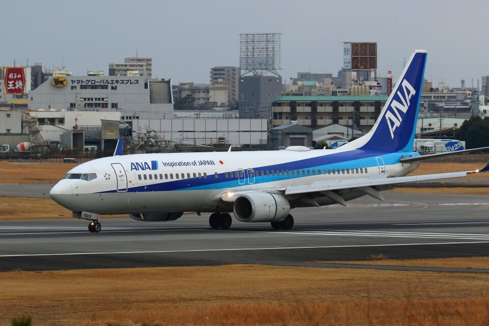 khideさんの全日空 Boeing 737-800 (JA76AN) 航空フォト