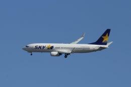 Yossy96さんが、福岡空港で撮影したスカイマーク 737-8FZの航空フォト(飛行機 写真・画像)
