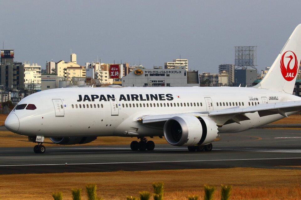khideさんの日本航空 Boeing 787-8 Dreamliner (JA849J) 航空フォト