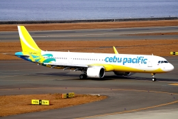 SFJ_capさんが、中部国際空港で撮影したセブパシフィック航空 A321-271NXの航空フォト(飛行機 写真・画像)