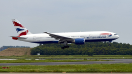 FlyingMonkeyさんが、成田国際空港で撮影したブリティッシュ・エアウェイズ 777-236/ERの航空フォト(飛行機 写真・画像)