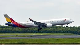 FlyingMonkeyさんが、成田国際空港で撮影したアシアナ航空 A330-323Xの航空フォト(飛行機 写真・画像)