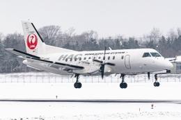 Ariesさんが、函館空港で撮影した北海道エアシステム 340B/Plusの航空フォト(飛行機 写真・画像)