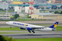 h_wajyaさんが、福岡空港で撮影したスカイマーク A330-343Xの航空フォト(飛行機 写真・画像)