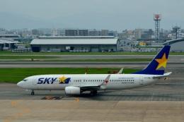 h_wajyaさんが、福岡空港で撮影したスカイマーク 737-8HXの航空フォト(飛行機 写真・画像)