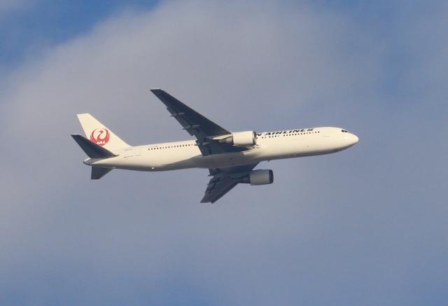 mahiちゃんさんが、中野区で撮影した日本航空 767-346/ERの航空フォト(飛行機 写真・画像)