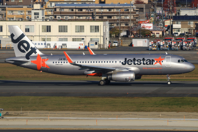 三軒 那乃さんが、福岡空港で撮影したジェットスター・ジャパン A320-232の航空フォト(飛行機 写真・画像)