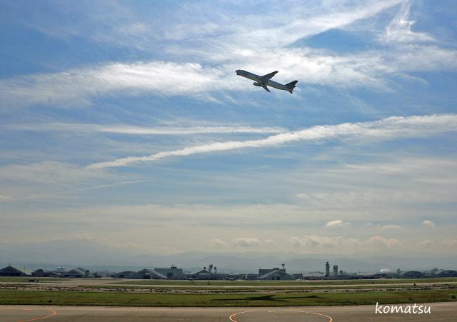 わかすぎさんが、小松空港で撮影した全日空 767-381/ERの航空フォト(飛行機 写真・画像)