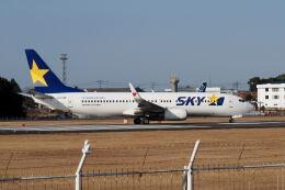 ワイエスさんが、鹿児島空港で撮影したスカイマーク 737-86Nの航空フォト(飛行機 写真・画像)