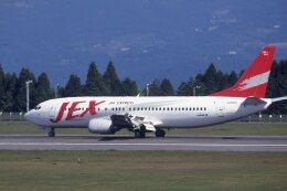 kumagorouさんが、鹿児島空港で撮影したJALエクスプレス 737-446の航空フォト(飛行機 写真・画像)