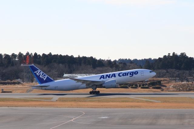Hiro-hiroさんが、成田国際空港で撮影した全日空 777-F81の航空フォト(飛行機 写真・画像)