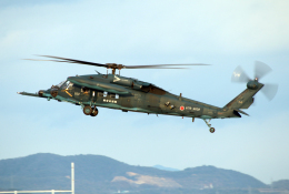 なごやんさんが、名古屋飛行場で撮影した航空自衛隊 UH-60Jの航空フォト(飛行機 写真・画像)