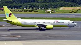 FlyingMonkeyさんが、成田国際空港で撮影したジンエアー 737-86Nの航空フォト(飛行機 写真・画像)