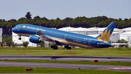 FlyingMonkeyさんが、成田国際空港で撮影したベトナム航空 787-9の航空フォト(飛行機 写真・画像)