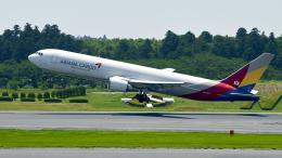 FlyingMonkeyさんが、成田国際空港で撮影したアシアナ航空 767-38EF/ERの航空フォト(飛行機 写真・画像)