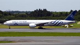 FlyingMonkeyさんが、成田国際空港で撮影したKLMオランダ航空 777-306/ERの航空フォト(飛行機 写真・画像)