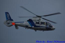 れんしさんが、福岡空港で撮影したオールニッポンヘリコプター AS365N2 Dauphin 2の航空フォト(飛行機 写真・画像)
