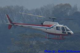 れんしさんが、福岡空港で撮影した西日本空輸 AS350BA Ecureuilの航空フォト(飛行機 写真・画像)