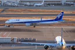 CL&CLさんが、羽田空港で撮影した全日空 A321-211の航空フォト(飛行機 写真・画像)