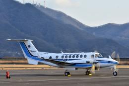 Gambardierさんが、岡南飛行場で撮影した海上保安庁 King Air 350C (B300C)の航空フォト(飛行機 写真・画像)