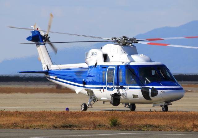 LOTUSさんが、神戸空港で撮影したファーストエアートランスポート S-76C++の航空フォト(飛行機 写真・画像)