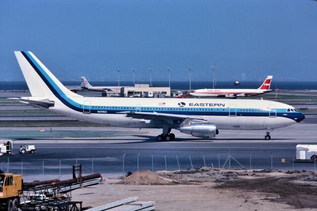パール大山さんが、サンフランシスコ国際空港で撮影したイースタン航空 (〜1991) A300B4-103の航空フォト(飛行機 写真・画像)