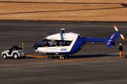 なごやんさんが、名古屋飛行場で撮影した宇宙航空研究開発機構 BK117C-2の航空フォト(飛行機 写真・画像)