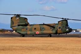 LUCHObyNOSAさんが、明野駐屯地で撮影した陸上自衛隊 CH-47Jの航空フォト(飛行機 写真・画像)