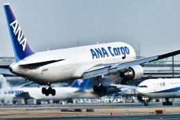 パンダさんが、成田国際空港で撮影した全日空 767-381F/ERの航空フォト(飛行機 写真・画像)