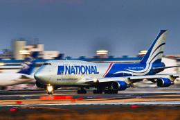 パンダさんが、成田国際空港で撮影したナショナル・エア・カーゴ 747-428(BCF)の航空フォト(飛行機 写真・画像)