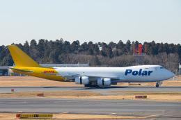 SGR RT 改さんが、成田国際空港で撮影したポーラーエアカーゴ 747-87UF/SCDの航空フォト(飛行機 写真・画像)