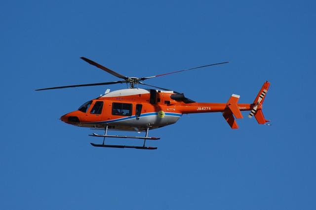 EC5Wさんが、名古屋飛行場で撮影した新日本ヘリコプター 427の航空フォト(飛行機 写真・画像)