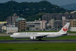 h_wajyaさんが、福岡空港で撮影した日本航空 767-346の航空フォト(飛行機 写真・画像)