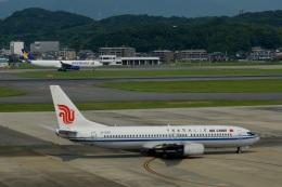 h_wajyaさんが、福岡空港で撮影した中国国際航空 737-808の航空フォト(飛行機 写真・画像)