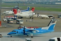 h_wajyaさんが、福岡空港で撮影した天草エアライン DHC-8-103Q Dash 8の航空フォト(飛行機 写真・画像)
