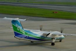 h_wajyaさんが、福岡空港で撮影したオリエンタルエアブリッジ DHC-8-201Q Dash 8の航空フォト(飛行機 写真・画像)