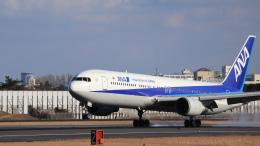Fly Yokotayaさんが、伊丹空港で撮影した全日空 767-381/ERの航空フォト(飛行機 写真・画像)